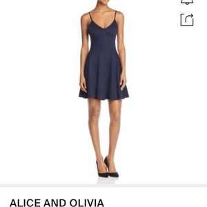 Alice and Oliver fit and flare dress.